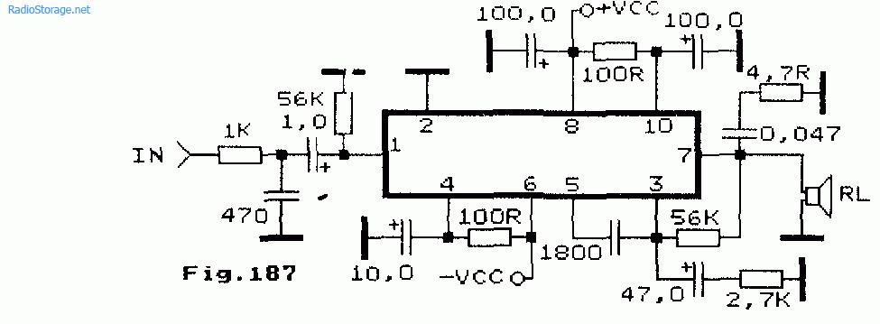 Схемы УНЧ на STK030, STK058,