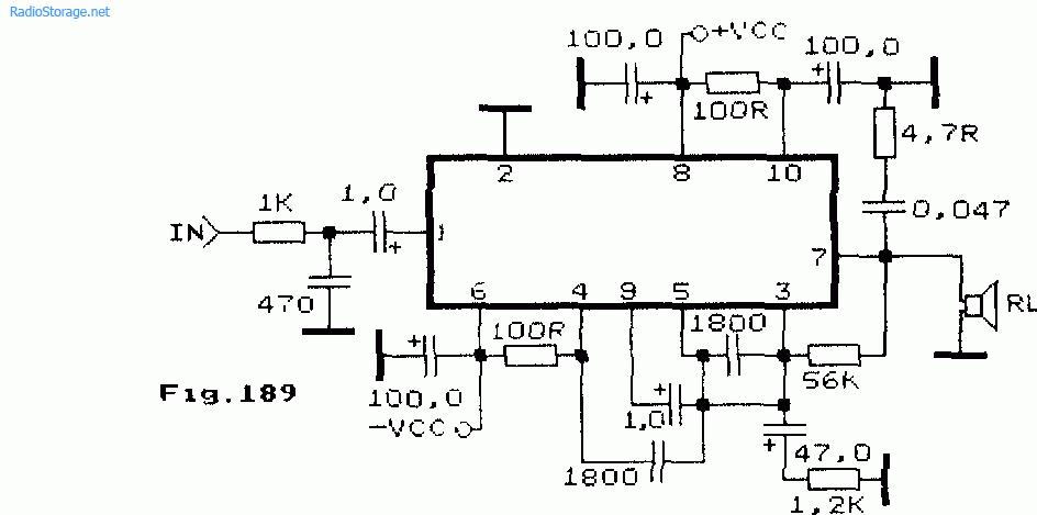 Схемы УНЧ на STK075, STK077,