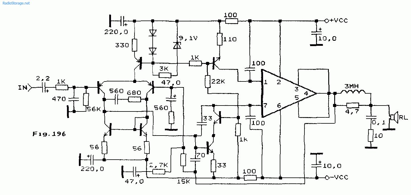 Схема: Схемы УНЧ высокого класа на Sanyo STK2025 STK2029 20 25Вт. принципиальная схема.