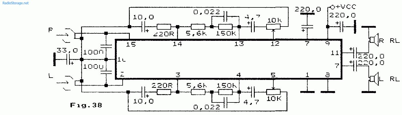 Контуры частотной коррекции
