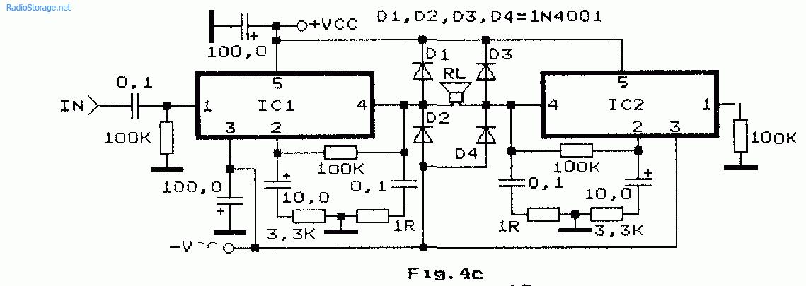 Схемы УНЧ на A2030H, A2030V,