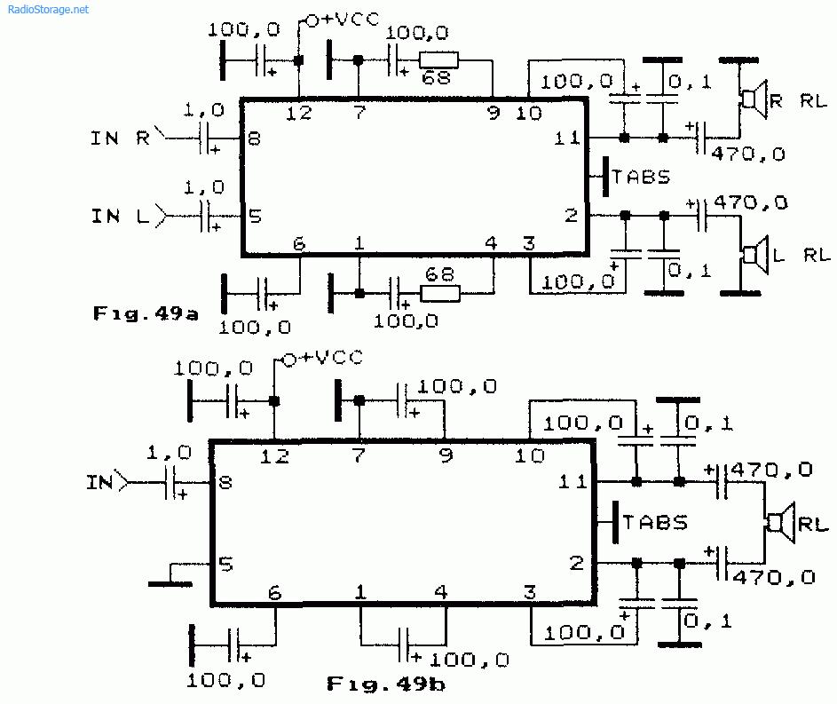 Интегральные УНЧ DBL1034