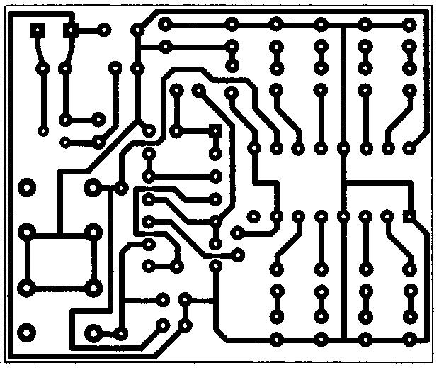 Изображение печатной платы регулятора громкости