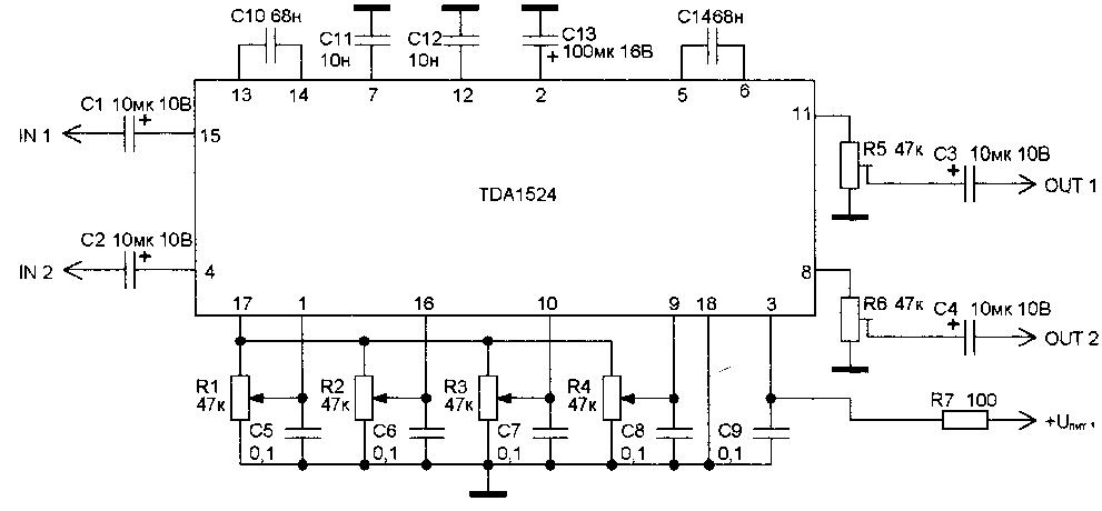 Рис. 2.25. Схема включения