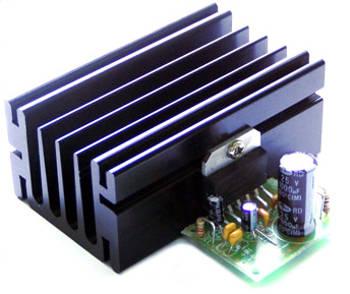 TDA2005 - тоготвый блок усилителя