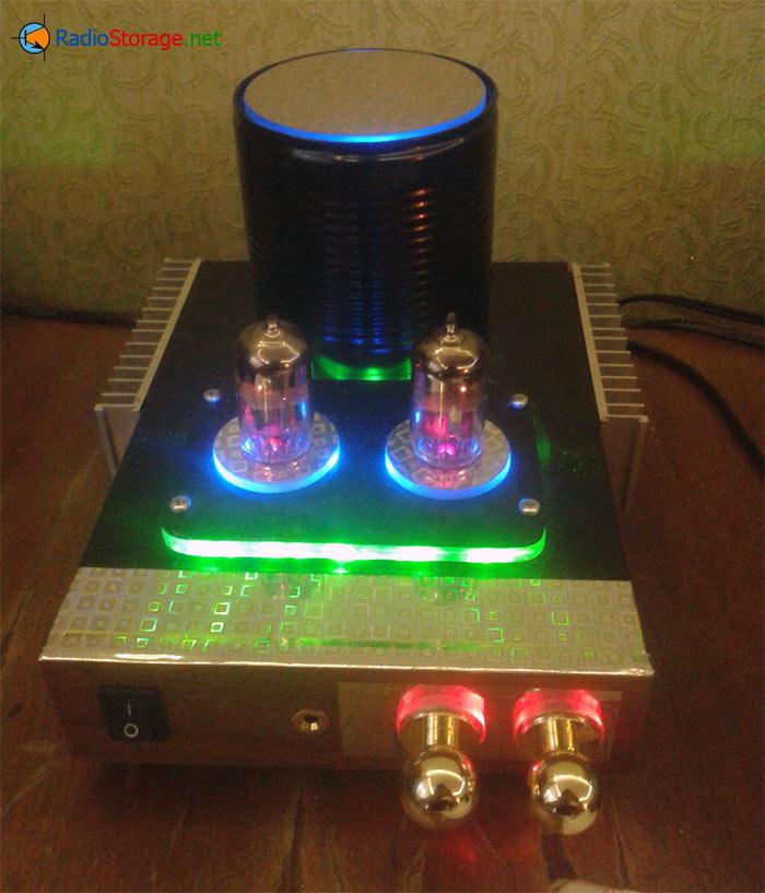 Гибридный лампово-полупроводниковый УНЧ для наушников и колонок
