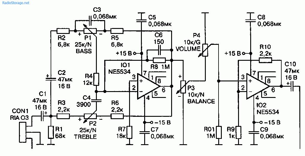 Схема УМЗЧ 2x150 Вт на