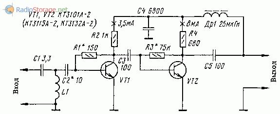 Схема антенного усилителя для телевизора своими руками