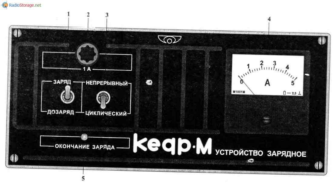 Зарядное устройство КЕДР-М, схема и описание, схема