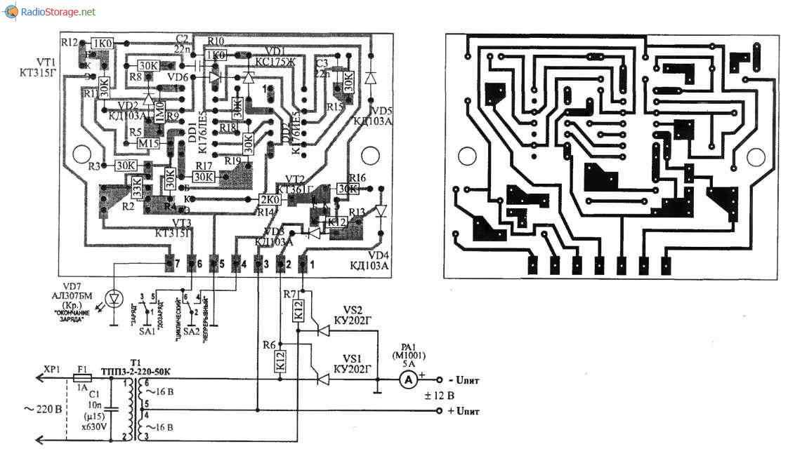 Зарядное устройство КЕДР-М,