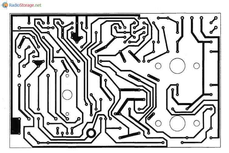 Зарядное устройство ЭЛЕКТРОНИКА УЗС-П-12-6,3 УХЛ3.1, схема