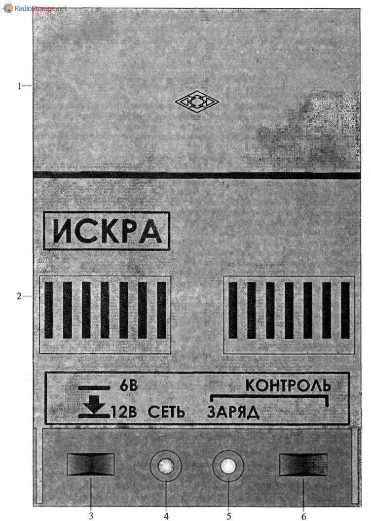 электрическая схема подзарядного устройства