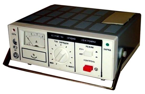 Зарядное устройство ЭЛЕКТРОНИКА УЗС-П-12-6,3