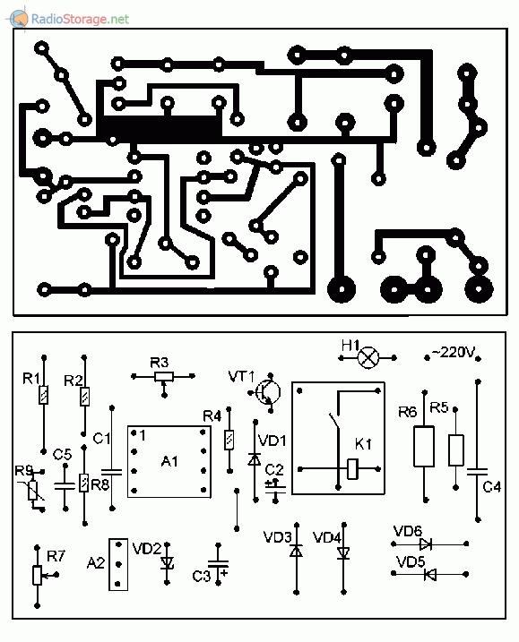 Терморегулятор на к140уд608 схема