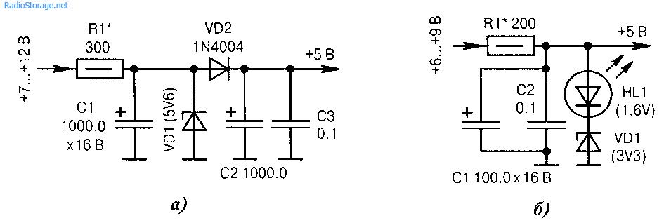 Схемы параметрических