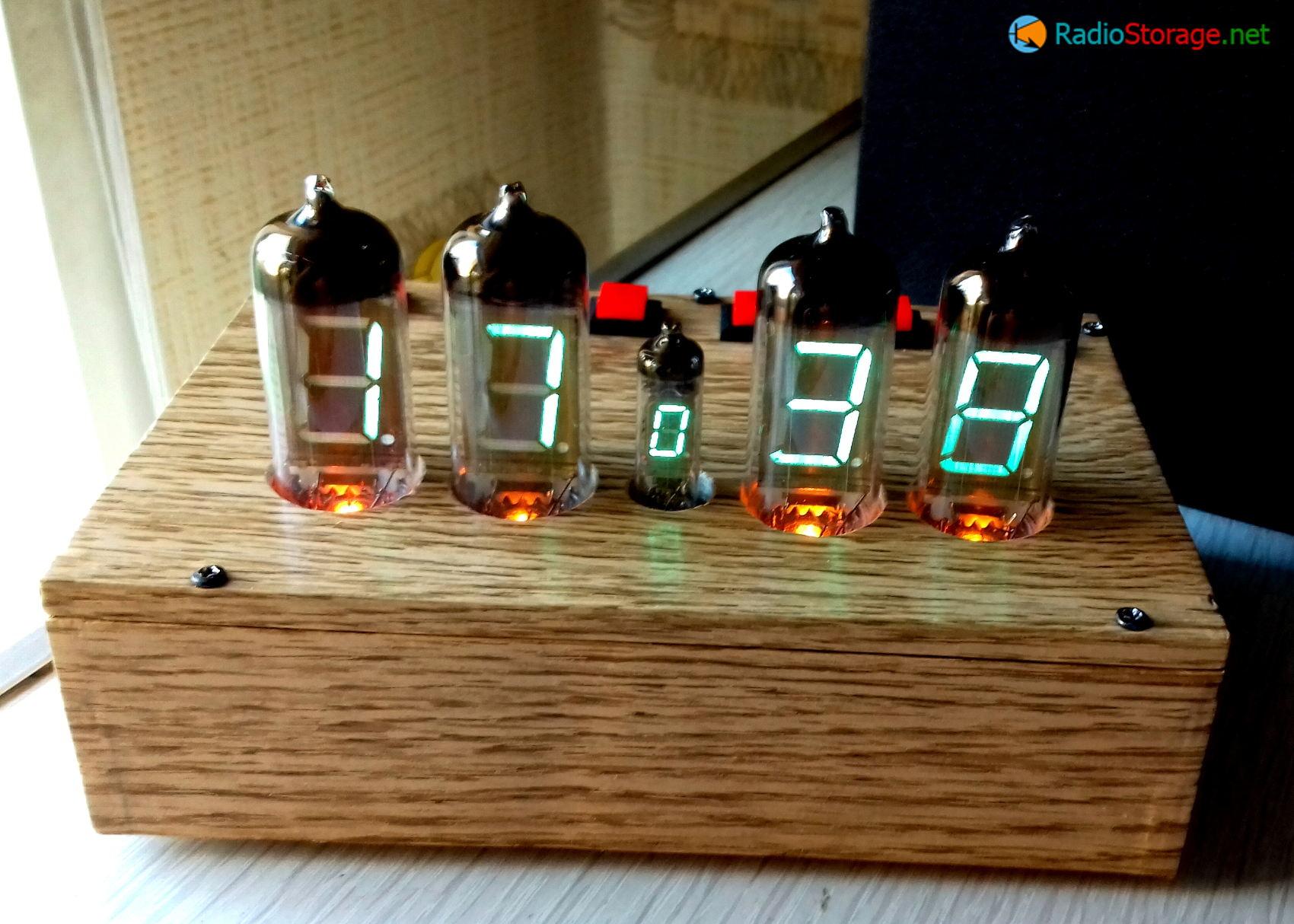 схема управления вторичными часами