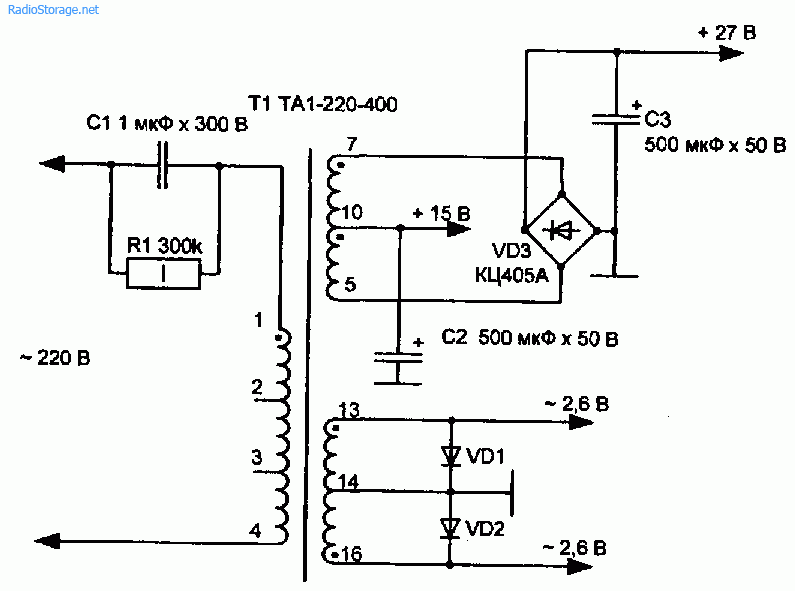 Трансформатор на частоту 400