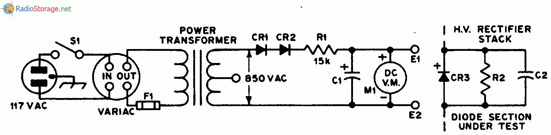 конденсаторе С1,