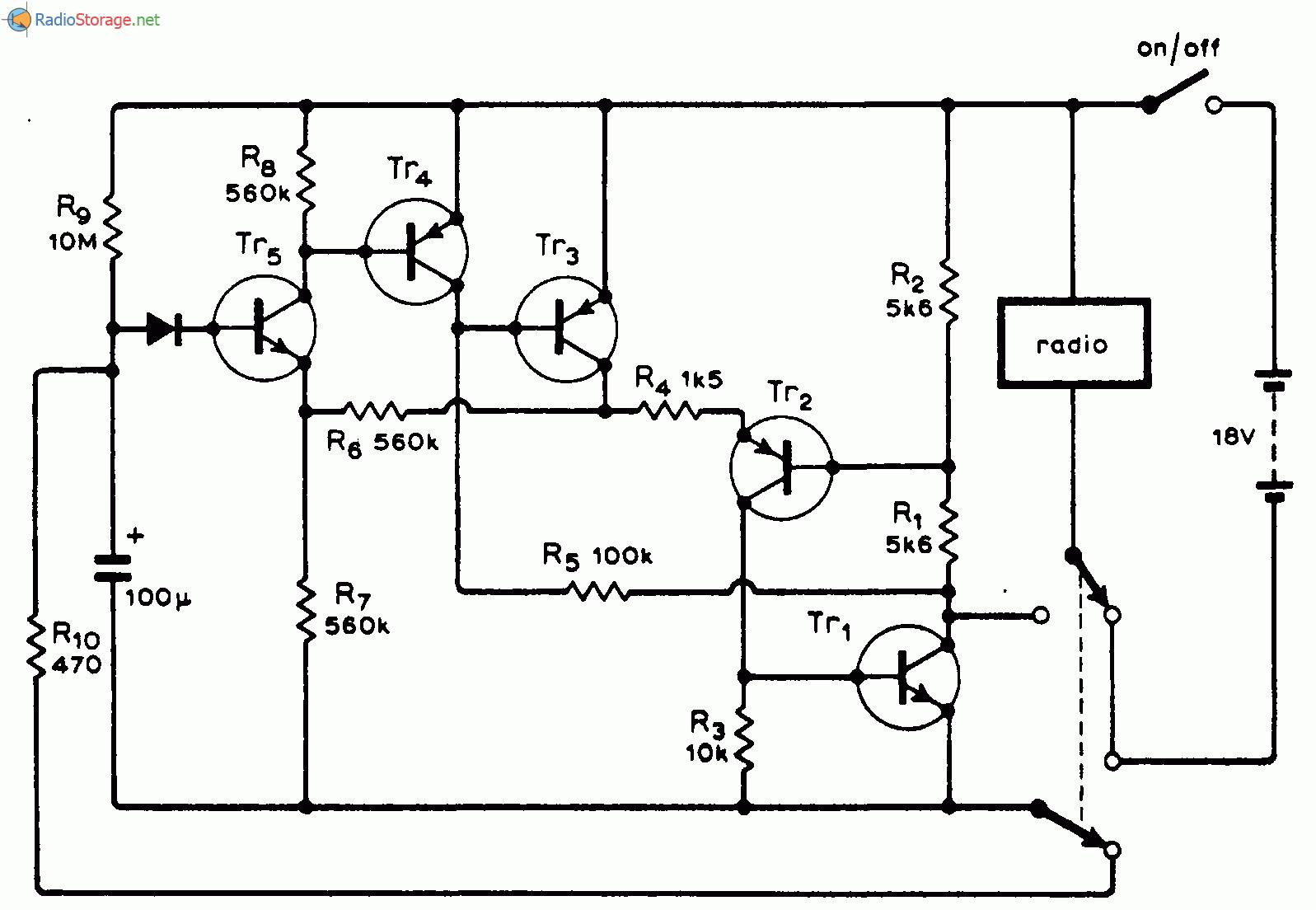 Таймер обладает малым потреблением электроэнергии при обоих положениях переключателя.