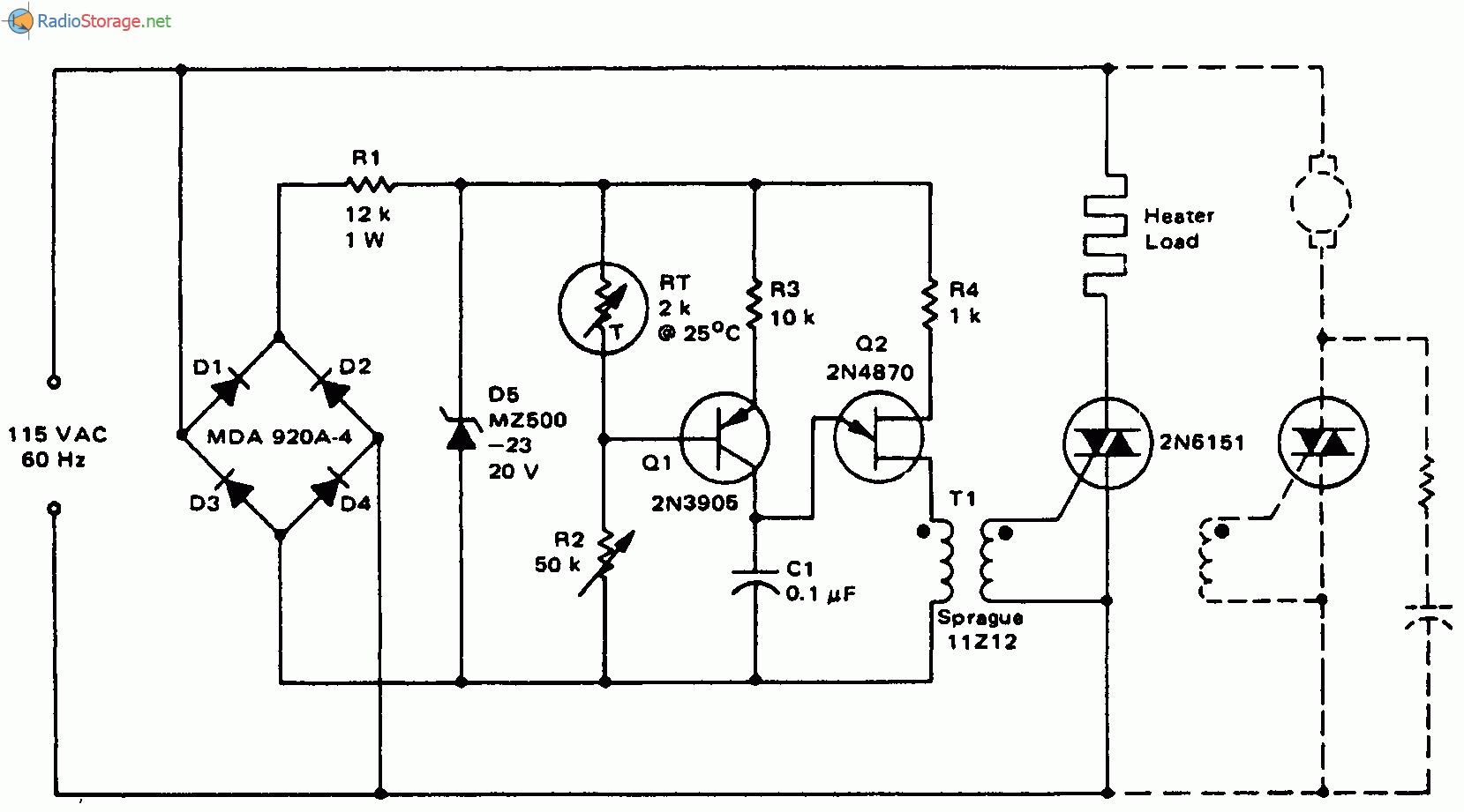Регулятор температуры электронный схема фото 225