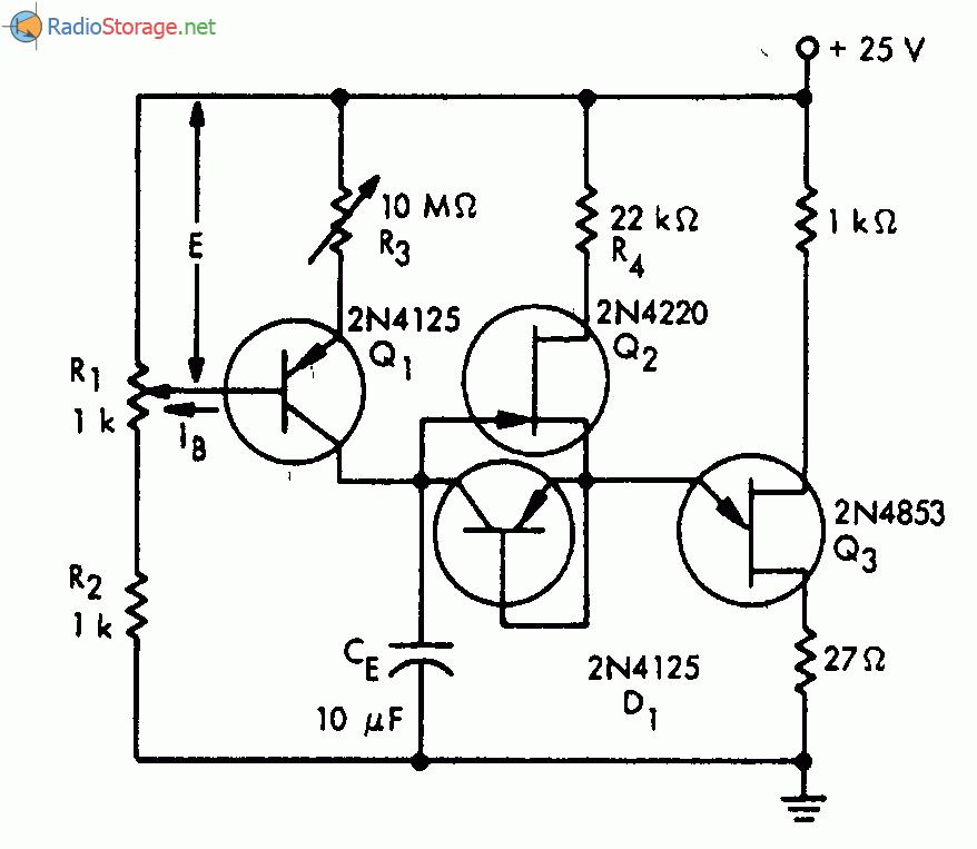 разряде конденсатора СЕ,