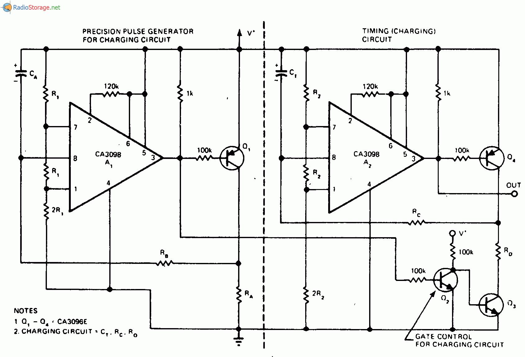 Таймер с большой временной задержкой, использующий небольшую емкость конденсатора.