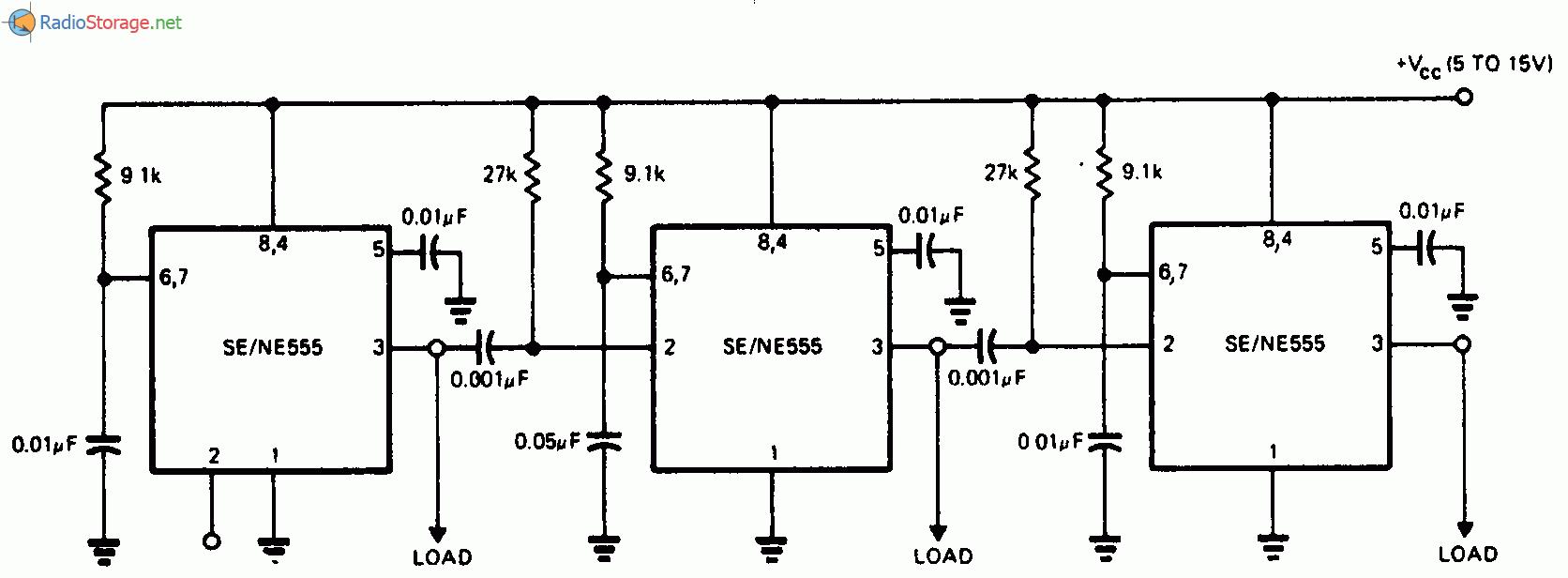 Циклический таймер на 555 схема фото 90