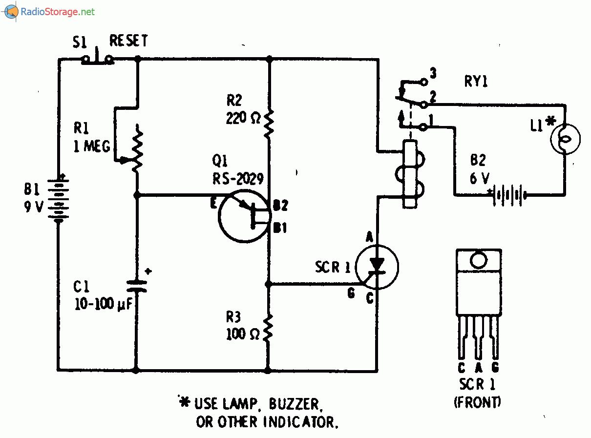схема самого простого радиоприёмника