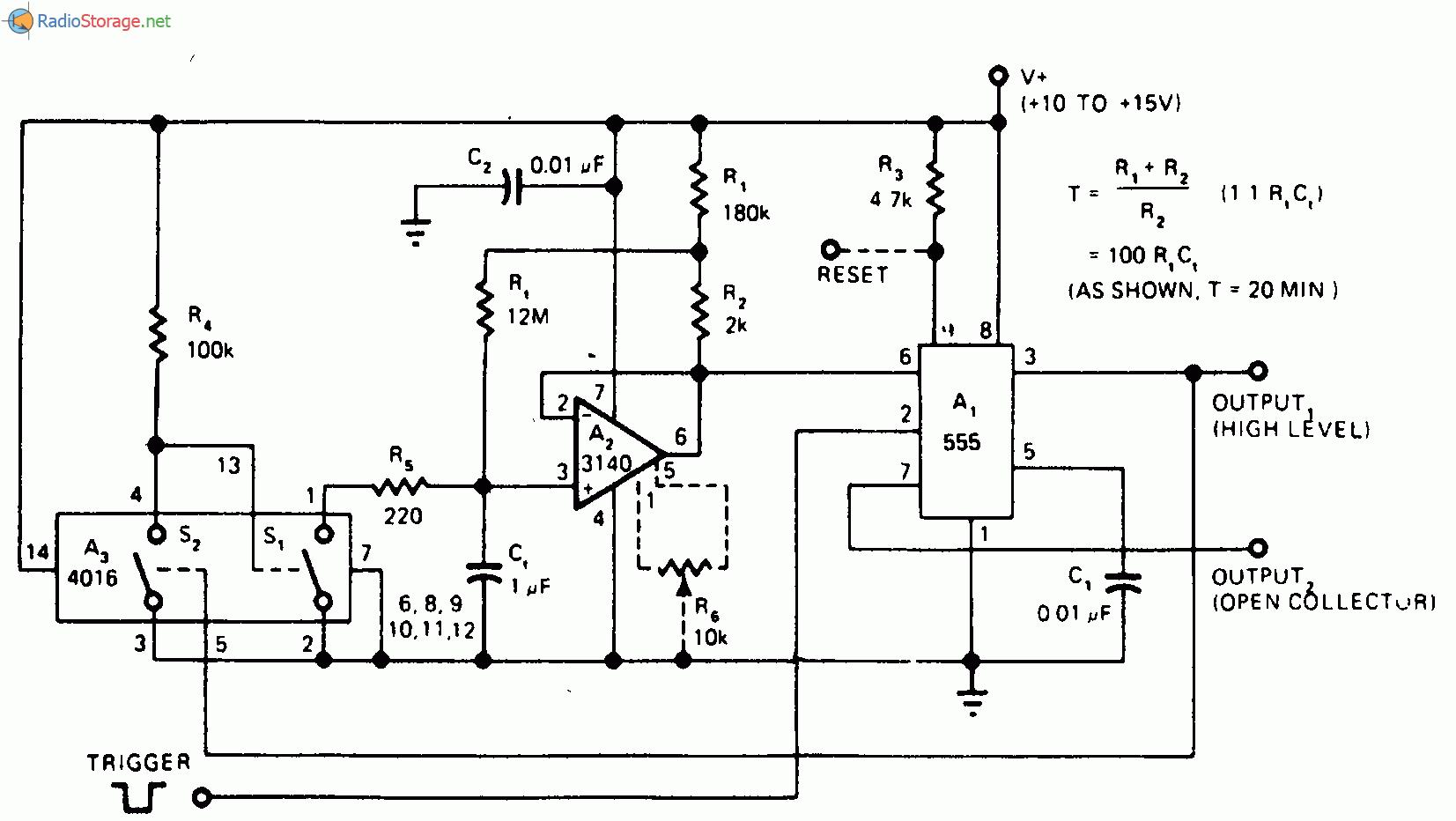 схема автоматической подачи воды