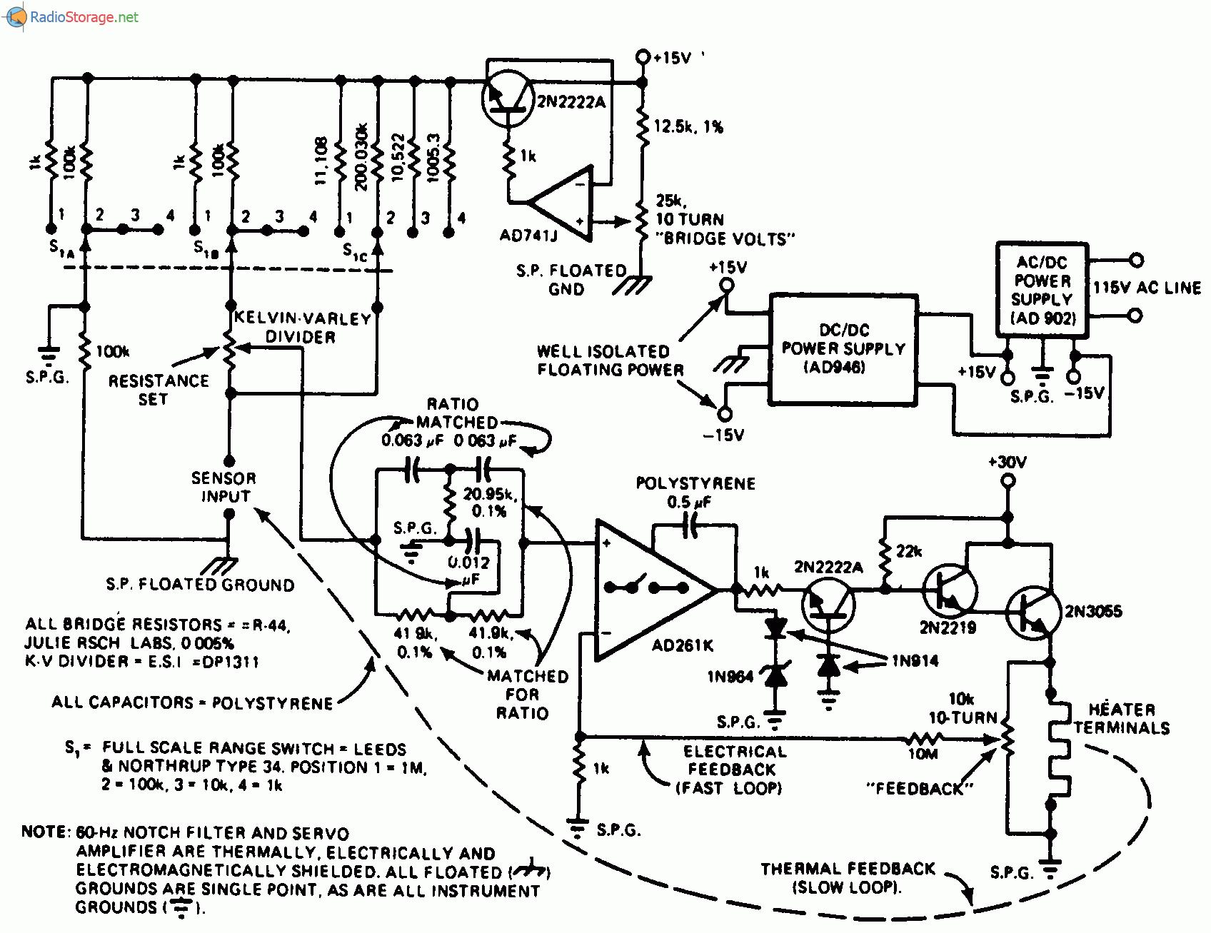 Семисторный регулятор для нагревателя.  В схеме используется высокоскоростной.