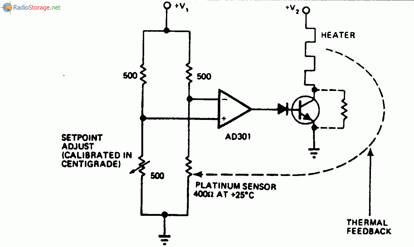 Семисторный регулятор для нагревателя.  В мостовой схеме регулятора.