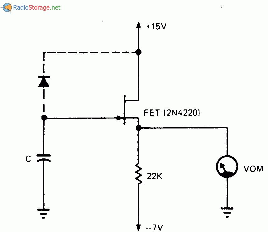 Схема для проверки тока утечки