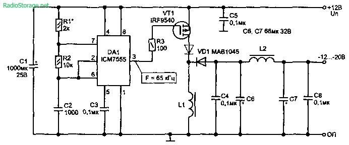 питания.  Схемы зарядных устройств для автомобильных аккумуляторов. вращения, мощности, напряжения.