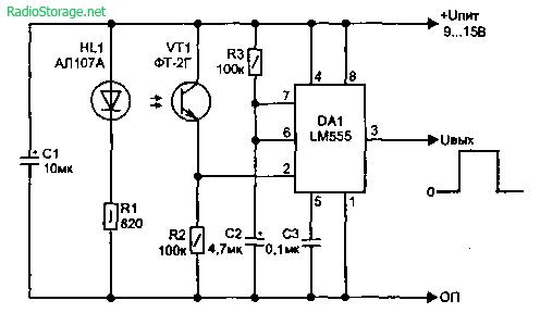 Световые датчики и