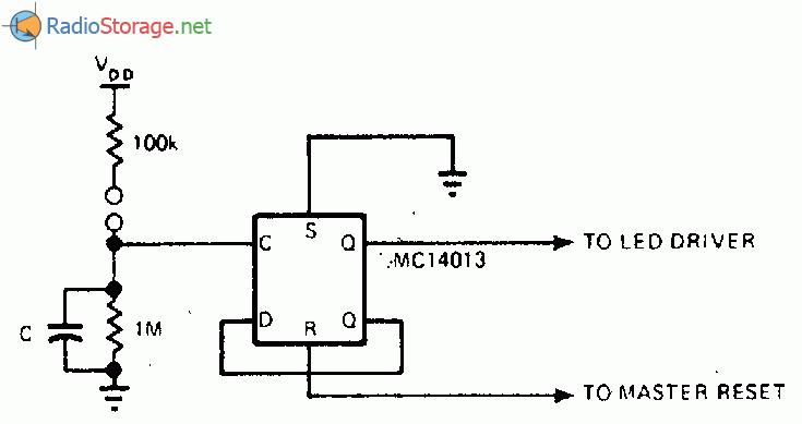Сенсорный переключатель в схеме с регулируемой вероятностью для лотереи.  Сенсорный выключатель без дребезга.