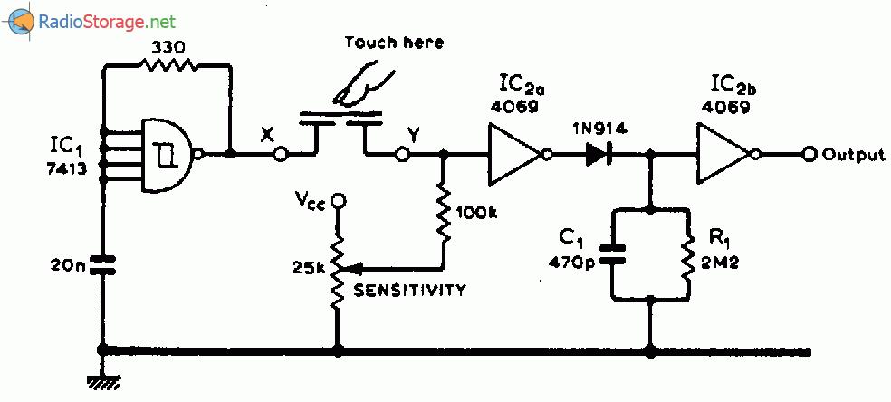 Сенсорный детектор для