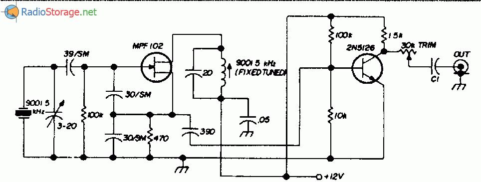 Схему (рис.) можно использовать в блоке SSB-передатчика.