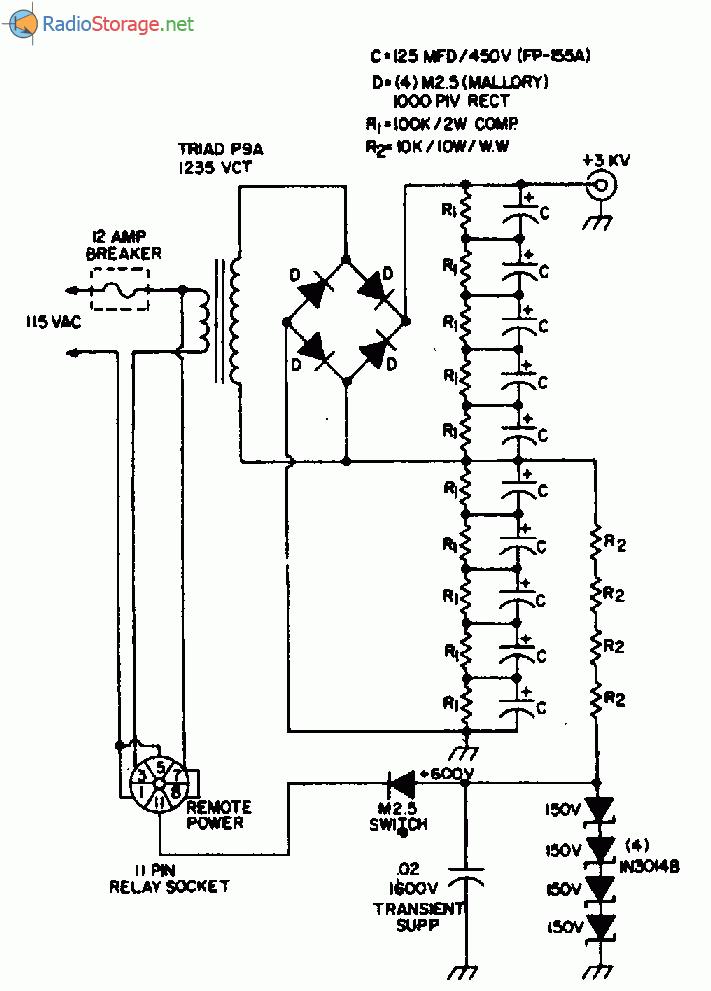 схема мощного источника тока