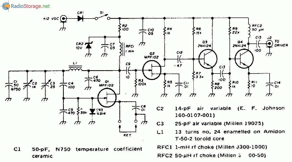 Задающий генератор схемы