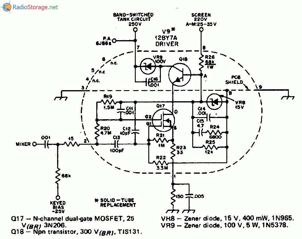 схема автомобильной лампы