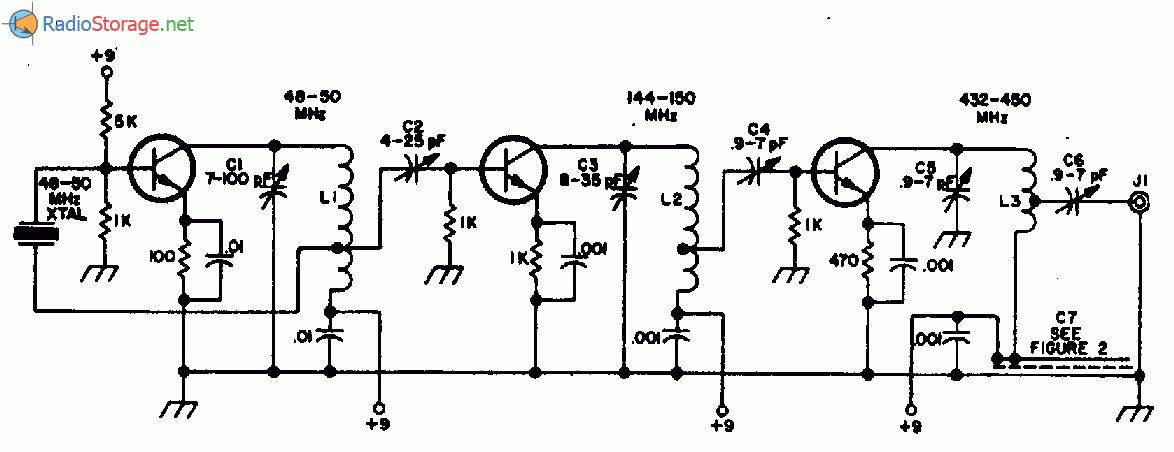 транзисторах (432-450МГц)