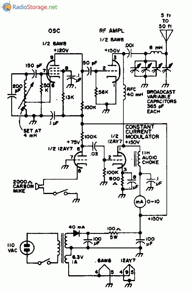 Ламповый передатчик диапазона
