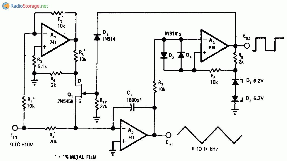 Линейный генератор управляемый