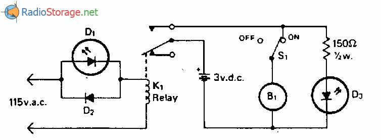 Схема сигнализатора