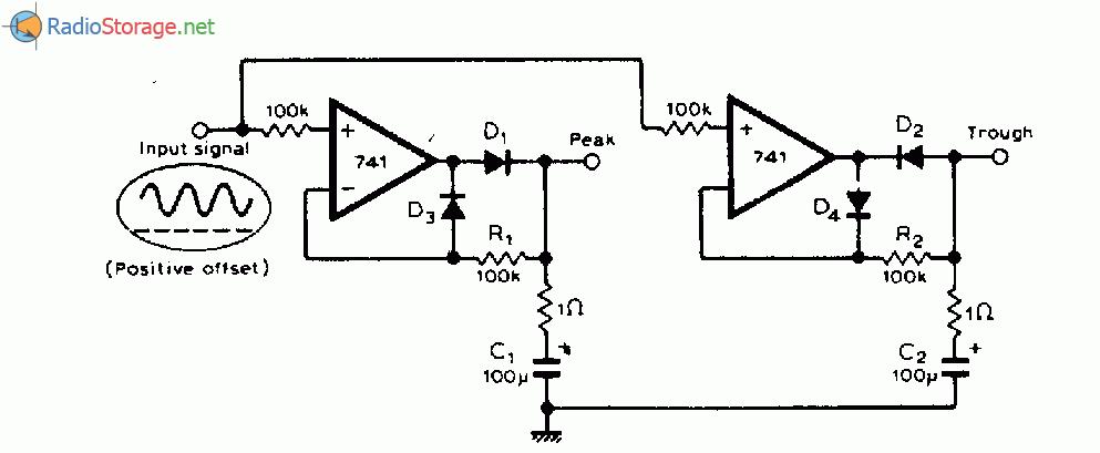 Схема детектор высшей и низшей