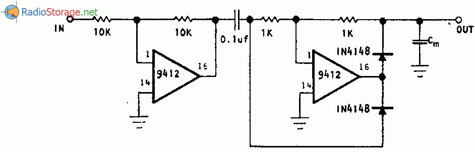 Пиковый детектор для сигналов