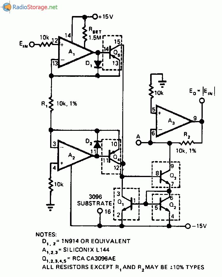 Схема для измерения