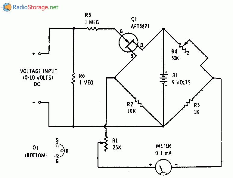 Потенциометром R1