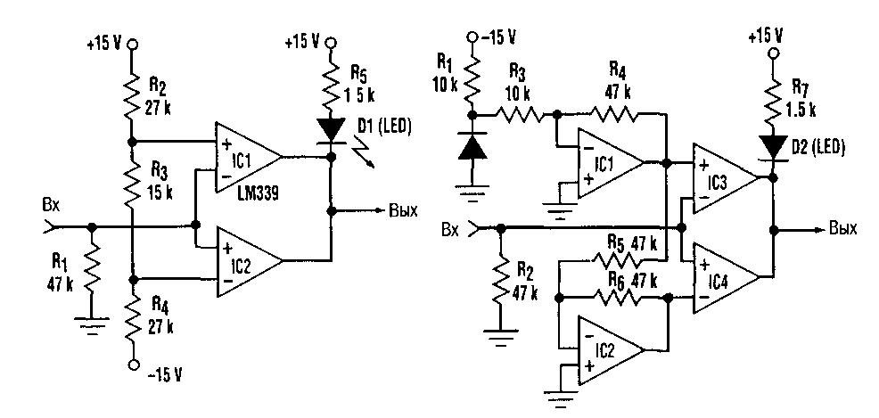 Схема тестера для кабелей RS-