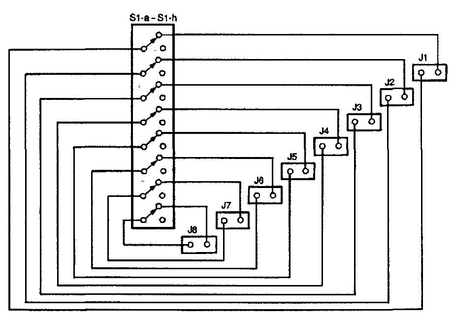 Схема переключателя адресов